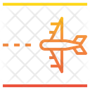 Runway Airport Airplane Icon
