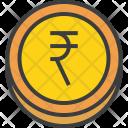 Rupee Coin Forex Icon