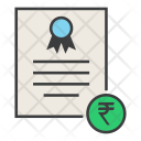 Rupee Trade Business Icon