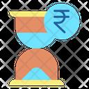 Hourglass Rupee Rupee Hourglass Icon