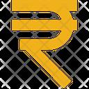 Business Finance Rupee Icon