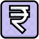Business Financial Rupee Icon