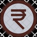 Rupee Coin Money Icon