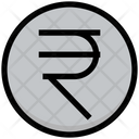 Rupee Coin Currency Icon