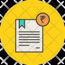 Rupee Trade Business Icon