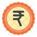 Rupee India Currency Icon