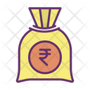 Mcash Bag Rupee Bag Money Bag Icon