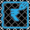 Rupee Bill Icon