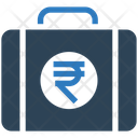 Rupee Briefcase Rupee Money Icon