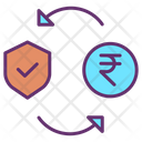 Rupee Fund Security Icon