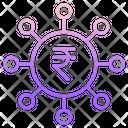 Rupee Fundraise Icon