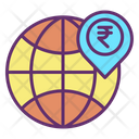 Rupee Global Location Icon