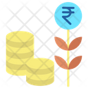 Rupee Investment Icon