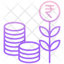 Rupee Investment Icon