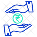 Rupee Loan Icon