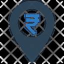 Rupee Location Icon