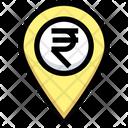 Rupee Location Money Location Rupee Icon