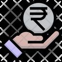 Rupee Pay Rupee Coin Icon