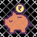 Rupee Savings Icon