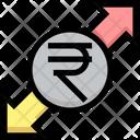 Rupee Sharing Icon