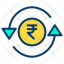 Rupees Currency Money Exchange Icon