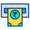 Cash Withdrawal Atm Machine Icon