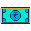 Rupees Banknote Finance Icon