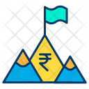 Rupees Achivement Achievement Goal Icon