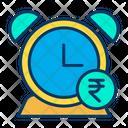 Rupees Alarm Alarm Clock Icon
