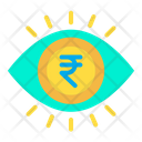 Analysis Rupees Money Analysis Icon