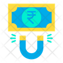 Rupees Attract Attract Money Attract Finance Icon