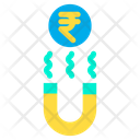 Magnet Magnetic Rupees Icon