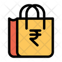 Rupee Bag Cart Icon