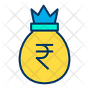 Rupees Bag Moneybag Money Sack Icon