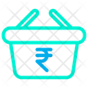 Rupees Basket Icon