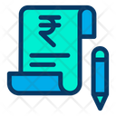 Rupees Bill Icon