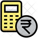 Rupees Calculator Calculator Rupees Icon