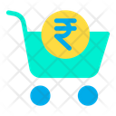 Rupees Cart Icon