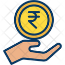 Rupees Charity Icon
