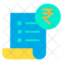 Receipt Invoice Bill Icon