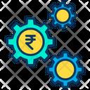 Rupees Cog Icon