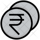 Rupees Coin Rupees Coin Icon