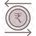 Indian Rupees Value Rupees Value Business Icon