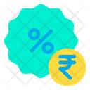 Rupees Discount Icon