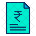 Document Business Document Rupees Agreement Icon
