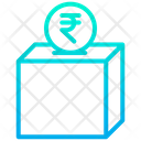 Contribution Rupees Donation Icon