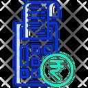 Rupees E Bill E Envoice Rupees Icon