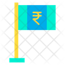 Rupees Flag Flag Cash Icon