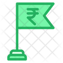 Rupees Flag Icon