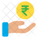 Funding Help Rupees Icon